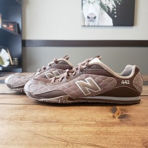 New Balance Brown and Pink 442 Women's Size 8.5